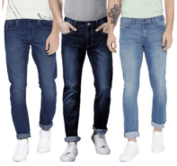 Regular Fit Jeans Set Of 3