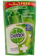 Buy 2 Get 1 Free: Dettol Liquid Handwash – 175 ml