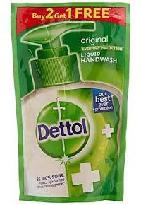 Buy 2 Get 1 Free: Dettol Liquid Handwash – 175 ml