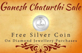 Get 5% off on Diamond Jewellery