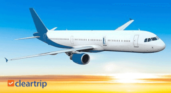 Rs.3000 Cashback on Domestic Flight Booking on Cleartrip
