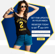 Get 15% off on orders above Rs.1500 on FabAlley