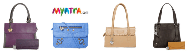 FLAT 80% OFF on Women Handbags! Hurry!