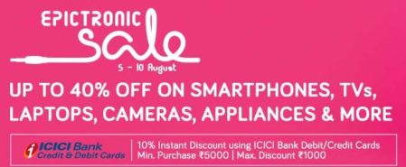 ICICI Bank Offer: Get 10% OFF on Mobile, TV, Appliances and more
