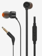 JBL Wired In Ear Headphone (T110) with Built-in Mic