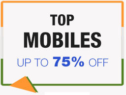 Top mobiles up to 70% discounted price