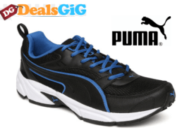 Puma Men Black Fashion Running Shoes at Rs.1539