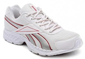 Reebok Men's White Running Shoes