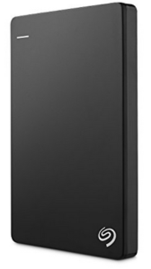Seagate Backup Plus Slim Portable 1TB External Hard Drive with Mobile Device Backup