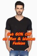 Get Up to 60% OFF on Men & Women Fashion