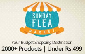 Sunday Flea Market: Products under 499