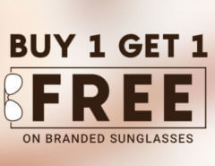 Sunglasses : Buy 1 Get 1 Free