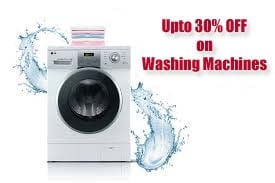 Up to 30% OFF on Washing Machines