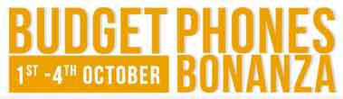 Budget Phone Bonanza from 1st to 4th October   10% Off SBI Card