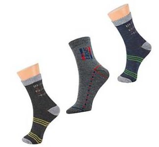 Zakina Pack Of 3 Pair Socks   Free Shipping   COD available