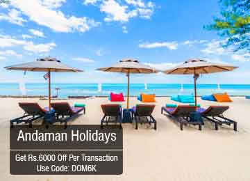 Enjoy Holiday at Andaman at very low cost