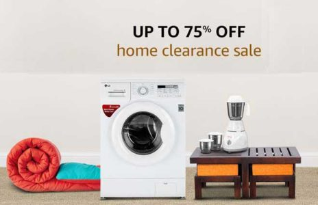 Home Clearance Sale – Get upto 75% off