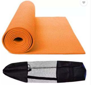 Orange Yoga Mat at Rs.415/-