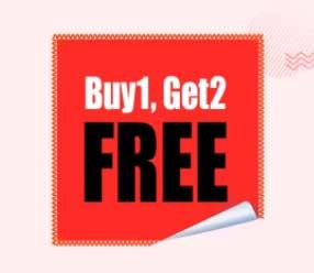 Buy 1 Get 1 Free offer On Flipkart