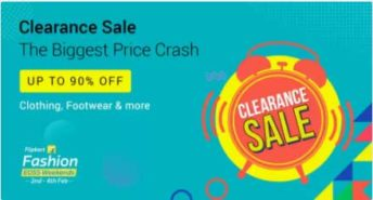 The Biggest Price Crash – Clearance Sale at Flipkart