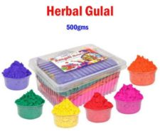 Natural Gulal Festive Colours 500 gm Multicolor at Rs.199