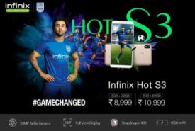 Sale will be start 12th February of Infinix Hot S3 (Starting at Rs.8999/-)