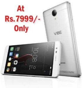 Buy Lenovo K5 Note Silver (4GB, 32 GB) at Rs.7999/- Only