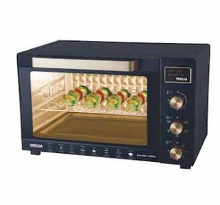 Inalsa Kwik Bake 45 L OTG Microwave Oven With Motorised Rotisserie (Black) at Rs.8240/-