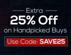 Get extra 25% discount on Moglix
