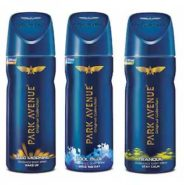 3 Pieces Combo of Park Avenue Body Deo – Good Morning   Cool Blue   Tranquil at Rs.259/-