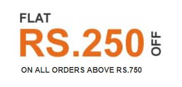 Flat Rs.250 OFF on Rs.750 at Pepperfry
