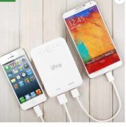 Ipro IP1042 10400 mAh Power Bank  (White, Lithium-ion at Rs.699/-