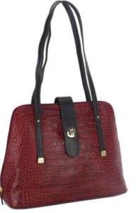 Shoulder Bag Maroon by Hidesign at Rs.3308/-