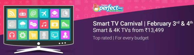 Smart TV Carnival – Smart & 4K TV's starting at Rs.13,499