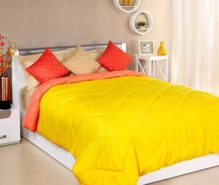 Solimo Microfibre Reversible Double Comforter at Rs.1749/-