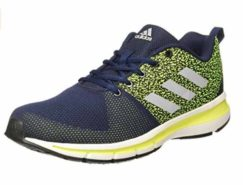 Adidas Men's Yaris 10 M Black Running Shoes at Rs.2099/-