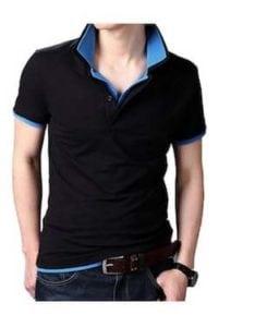 Men's Double Collar Premium Polo Tshirt at Rs.749/-