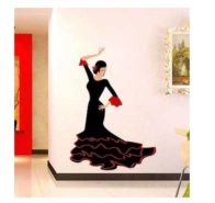'Dancing Girl' Wall sticker  at Rs.249/-
