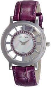 Titan Analogue White Women's Watch at Rs.3400/-