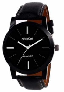 Stylish And Elegant Brown Strap Wrist Watch For Men at Rs.139/-