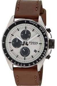 Fossil Chronograph Silver Dial Men's Watch at Rs.4977/-