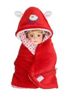 3 In 1 Baby Wrapper Or Blanket Cum Sleeping Bag at Rs.299/- Only