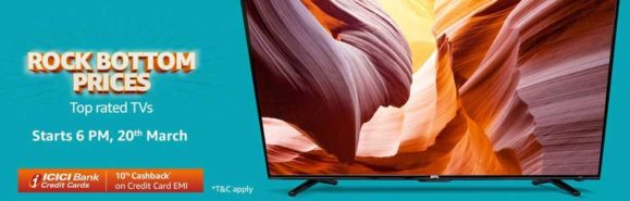 Best TV price drop on 20th March