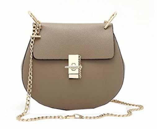 b65446b709 Di Grazia Women s Cross Body Sling Bag (Ash Grey