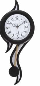 Smile2u Retailers Analog Wall Clock  (Black, With Glass) at Rs.748/-