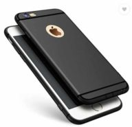 GadgetM Back Cover for Apple iPhone 6  (Black, Silicon) at Rs.175/-