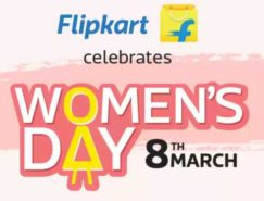 Women's Day Offer on Flipkart – Get upto 80% massive discount on 8th March