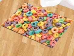 Status Nylon Floor Mat 3D Digital printed  (Multicolor, Small)at RS.199/-