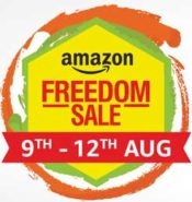 Get 10% instant discount with SBI card on Amazon Freedom Sale