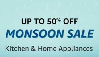 Get up-to 50 percent off on Amazon Monsoon Sale Offer on Home Appliances